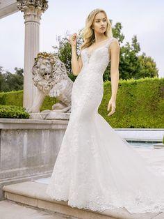 Lace Beaded Wedding Dresses