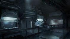 sci fi bunker interior - Google Search