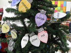 """""""Christmas Lights"""" Printable (free)"""