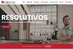 Diseño web para Crecer Factoring