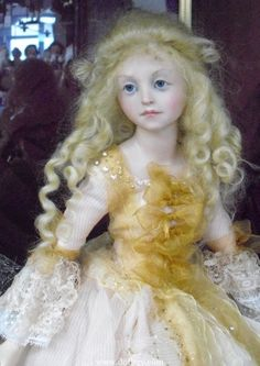 This doll is by Anna Brahms
