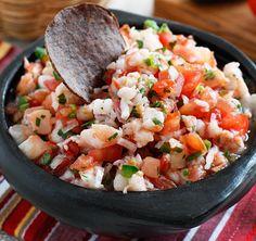 Skinny Shrimp Salsa, Photo Credit and Recipe: www.skinnytaste.com