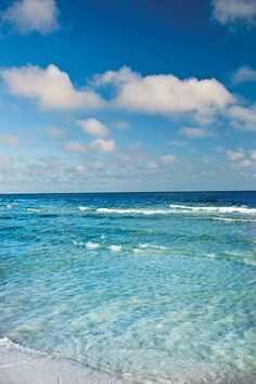 Gorgeous Gulf of Mexico from Panama City Beach, Florida /