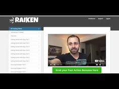 Raiken Review & Bonuses https://youtu.be/dWGSyD20o_w For your MASSIVE DISCOUNT email dan@trafficgenerationsecrets.net  Get the product & Bonuses from here http://ift.tt/2BO0dya  In the course Brendan Mace and Steve Raiken reveal their money making system - based on ebay.   https://youtu.be/dWGSyD20o_w https://youtu.be/dWGSyD20o_w