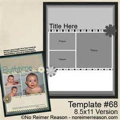 8.5x11 scrapbook layouts - 必应 Images