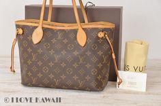 Louis Vuitton Monogram Neverfull PM Tote Shoulder Bag M40155