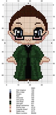Minerva McGonagall - Harry Potter pattern
