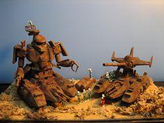 Diorama e autocostruzione