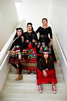 I Am Anishinaabe: Ojibwe Women Seek New Horizons While Honoring Tradition, Native Max Magazine Native American Wedding, Native American Regalia, Native American Clothing, Native American Beauty, Native American Beadwork, Native Beadwork, Jingle Dress, Powwow Regalia, Ribbon Skirts