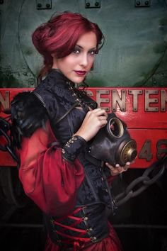 Steampunk industrial post apocalypse style inspiration for women