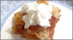 apple rhubarb bread crumb crisp