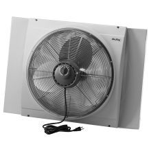 20 Inch 3560 CFM Whole House Window Mounted Fan with Storm Guard Housing from the Window Fans Collection