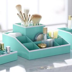 Jane Beauty Collection, 9 Compartment Organizer | PBteen- Perfect for bathroom storage