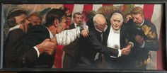 American Art - Alton S. Tobey: The Assassination of President McKinley