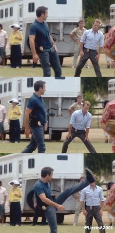 Ah, McGarrett is also a member of the Ministry of Silly Walks