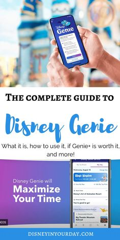 All about the new Disney Genie app - what it is, how to use it, and what you need to know (and do you really need to pay extra for it?) Disney World Packing, Disney World Secrets, Disney World Hotels, Disney World Food, Walt Disney World Vacations, Disney World Tips And Tricks, Disney On A Budget, Disney Planning, Disney Fast Pass