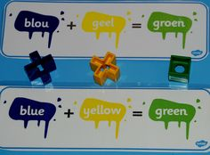 colour mixing cards FREE on Twinkl see link in post Home Learning, Learning Activities, Afrikaans, Worksheets For Kids, All The Colors, Color Mixing, Letting Go, Printable, Colour
