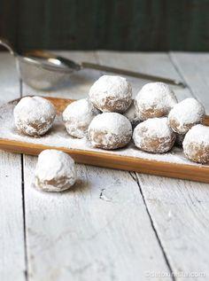 No-Bake Pecan Snowballs (Paleo, Vegan)   Detoxinista