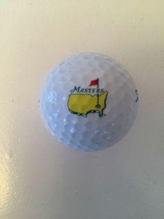 Masters Logo Golf Ball from Augusta National - Titleist Velocity #Titleist