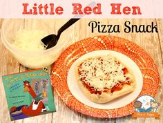 Little Red Hen Makes a Pizza Printable Rebus Recipe for Kids
