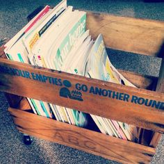 Recycled Beer Crate