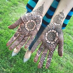 exhausted mehndi design for hand great pattern