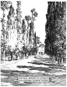Bertram Grosvenor Goodhue, Architect (1869-1924) Central Avenue Cypress