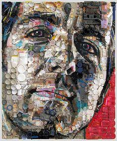 Zac Freeman - assemblage art work