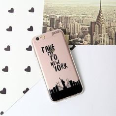 Take me to new york iPhone case