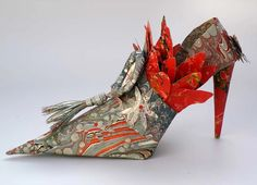 Linda Filley Paper Shoes | Fine Art Paper Shoes | Gallery