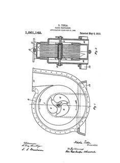 Turbina di Nikola Tesla