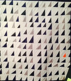 Quilts from Houston 2014. I love the pop of orange here!