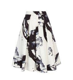 Une jupe monochrome