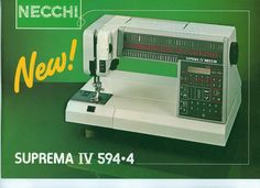 The last Necchi produced in Europe. Antique Sewing Machines, Europe, Cool Stuff, Antiques, Toys, Fun, Cool Things, Antiquities