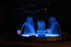 Decorative Fountains, Backyard, Patio, Light Effect, Rooftop, Terrace, Outdoor Decor, Balcony, Rooftops