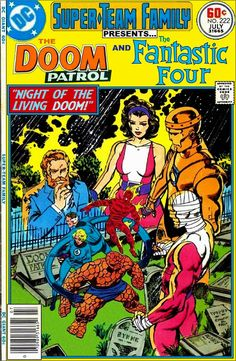 Super-Team Family: The Lost Issues!: The Doom Patrol and The Fantastic Four