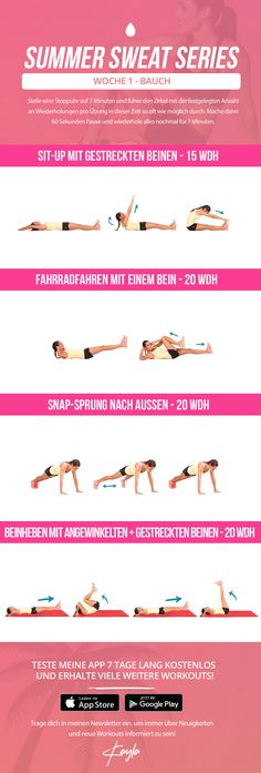 Summer Sweat Series - Woche 1 Freitag – Kayla Itsines
