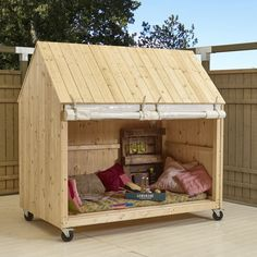 be an awesome dog house