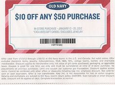 Old Navy Coupons and Codes
