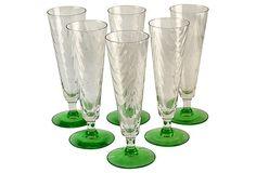 Champagne Flutes, Set of 6 on OneKingsLane.com