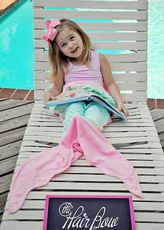 The Hair Bow Company - Minky Mermaid Tail Blankets, $19.99 (http://www.thehairbowcompany.com/minky-mermaid-tail-blankets/)