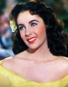 """Elizabeth Taylor in """"A Date with Judy"""" (1948). Her signature look debuted in this film."""