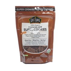Shop Go Raw Organic Raw Chocolate Super Cookies at wholesale price only at ThriveMarket.com