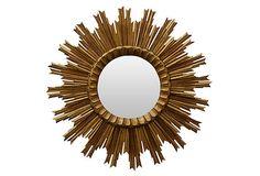 Two-Tier Sunburst Mirror