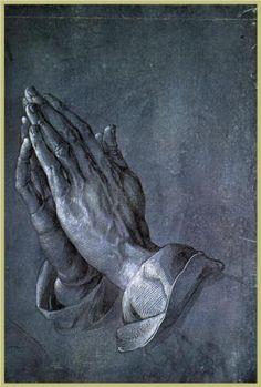 Albrecht Dürer ~ Hands of an Apostle, 1508 (Graphische Sammlung Albertina)
