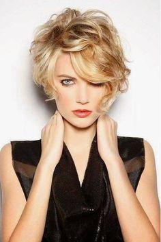 Asymmetrical Curls