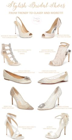 stylish bridal shoes