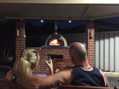 "We've just smashed out 4 pizzas and a tray of prawns for prawn cocktails, now just enjoying a drink in front of the fire. Love our pizza oven. Thanks guys"" Thank you Lynsey Rotham, from Perth, WA, for your great pic and fantastic feedback :) Wood Fired Oven, Wood Fired Pizza, Pizza Oven For Sale, Woodfired Pizza Oven, Commercial Pizza Oven, Prawn Cocktail, Four A Pizza, Perth Australia, Great Pic"