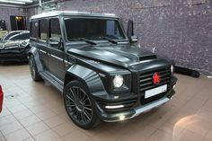 Mansory | Mercedes-Benz Tuning Blog: Mercedes G55 AMG Mansory Russian Edition