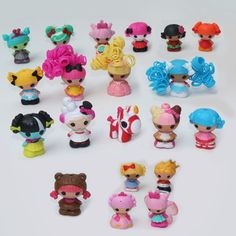 Mini Lalaloopsy Doll The Bulk Button Eyes Action Figure Children Toy Juguetes Brinquedos Kids Toys Best Toy For Girl 10pcs/lot
